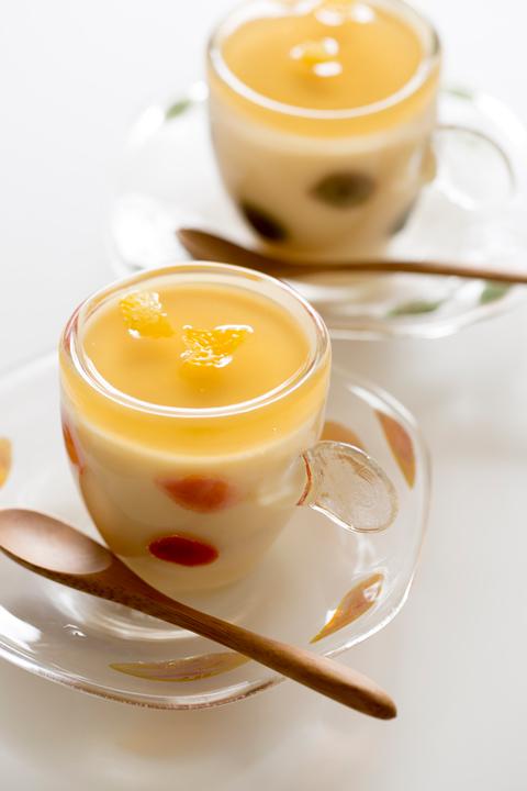 百合根の茶碗蒸し写真